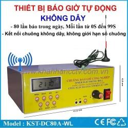Bộ điều khiển báo giờ tự động không dây KST-DC80A-WL