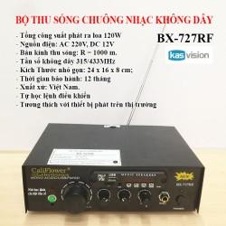 Bộ thu sóng chuông nhạc không dây BX-727RF 120W
